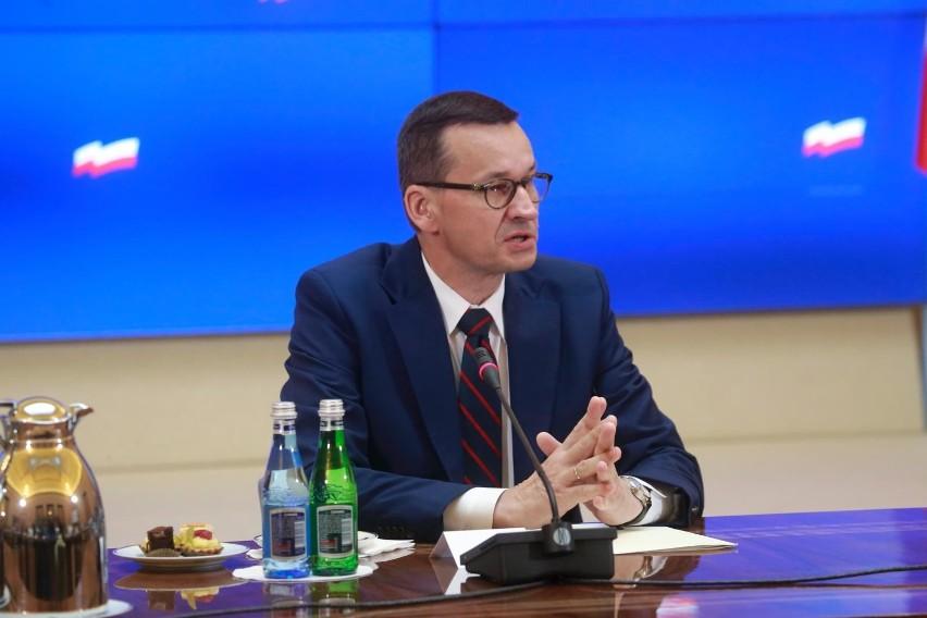 Mateusz Morawiecki w Wilnie. Podpisano deklarację ws. Białorusi