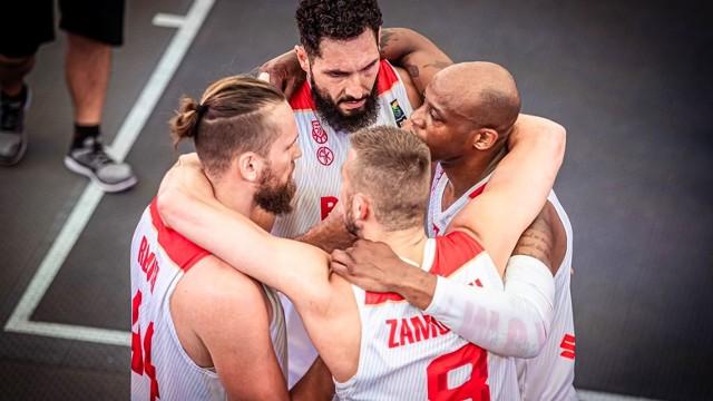 Polacy są czołową drużyną świata w koszykówce 3x3