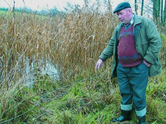 Z powodu stawu część mojego pola stała się nieużytkiem, ponieważ jest zalana wodą - skarżył się kilka tygodni temu Stanisław Złotorzyński.
