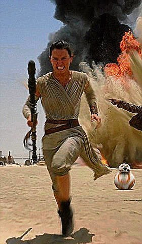 Daisy Ridley jako Rey