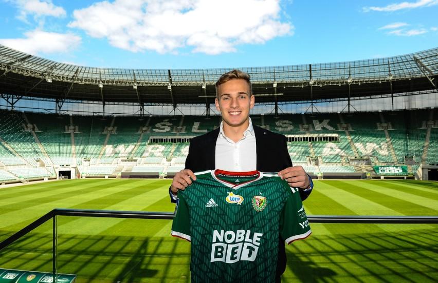Mateusz Praszelik - nowy gracz Śląska Wrocław