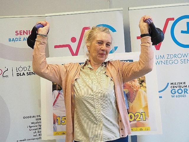 Małgorzata Wojciechowska, jedna z uczestniczek zajęć w Centrum Zdrowego i Aktywnego Seniora przy ul. Libelta w Łodzi zapewnia, że z utęsknieniem wyczekiwała na kolejne Senioralia