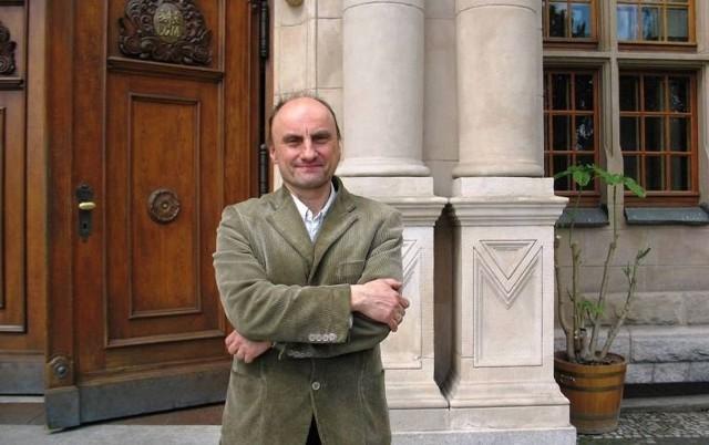 Andrzej Radke (ur. 1963) obecnie działa w Klubie NZS 80