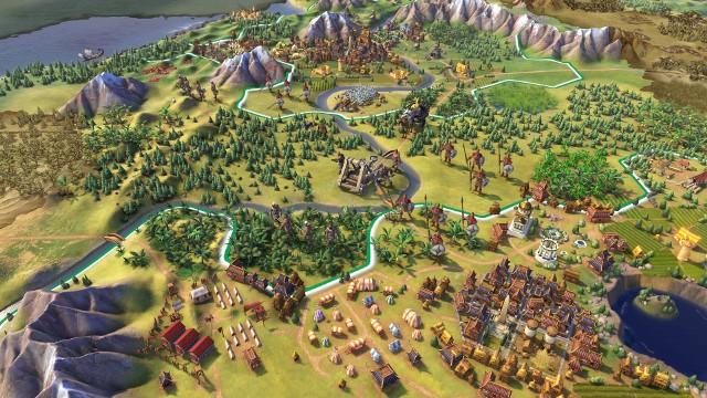 Sid Meier's Civilization VIGra Sid Meier's Civilization VI jest dostępna na PC w polskiej (napisy) wersji językowej.