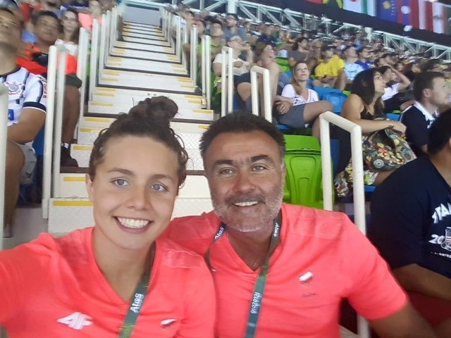 Grzegorz Widanka zrobił sporo, aby jego podopieczna przygotowywała się do igrzysk w optymalnych warunkach