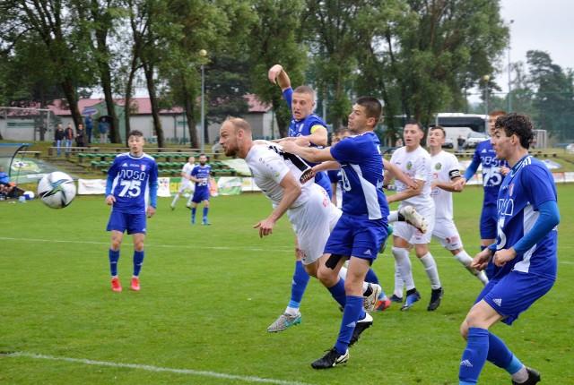 Piłkarze Lechii Zielona Góra zremisowali (2:2) z Polonią Nysa.