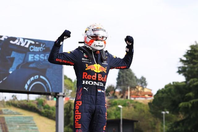 Verstappen najlepszy na Imoli i szczęście w nieszczęściu Hamiltona