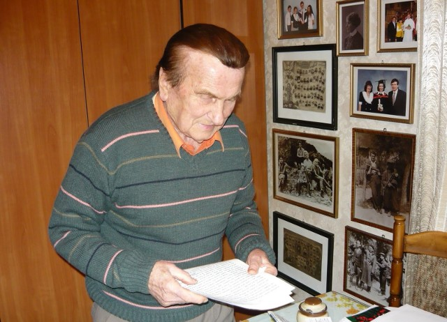 Mieczysław Korczak od 67 lat swoje życie rodzinne związał na stałe z Ziemią Tarnowską