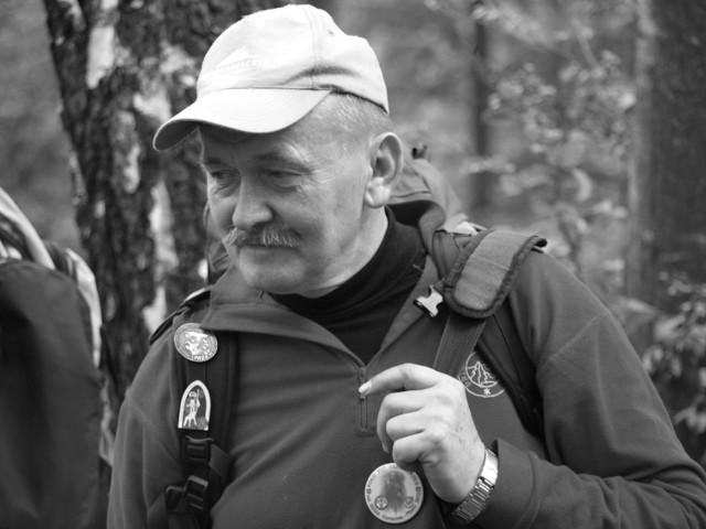 Mieczysław Winiarski na Jakubowym Szlaku.