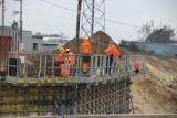 Wznowiono po zimie prace budowlane na drodze S14