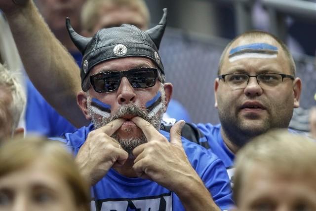 Estończycy w Ergo Arenie pokazali, co to jest gra z pasją. Duża w tym zasługa ich kibiców