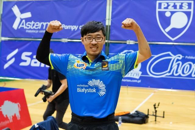 Wang Zeng Yi i jego koledzy z Dojlid mają w tym sezonie wiele powodów do radości