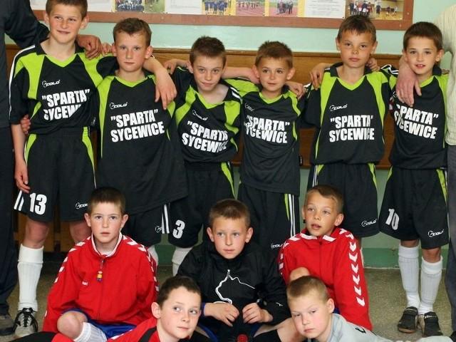 Sparta Sycewice odnosi duże sukcesy w piłce nożnej dzieci i młodzieży.