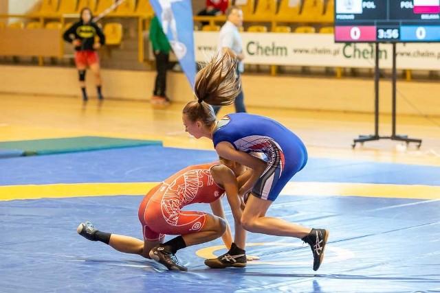 W 2020 roku młode zapaśniczki rywalizowały w Chełmie o medale Ogólnopolskiej Olimpiady Młodzieży - Lubelskie 2020