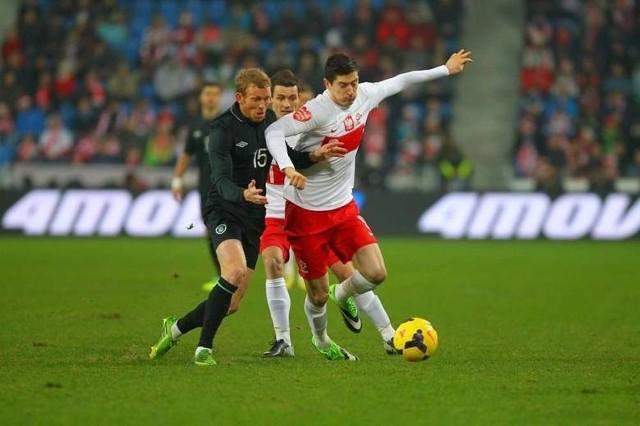 Mecz Polska - Irlandia bez bramek