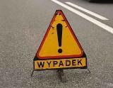 Wypadek w Nowej Wsi na drodze nr 55. Dwie osoby ranne