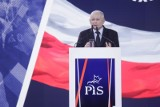 Konwencja PiS w Katowicach. Jarosław Kaczyński do środowisk LGBT: Wara od naszych dzieci!