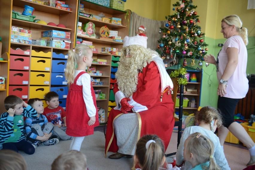 Wizyta Świętego Mikołaja w zielonogórskim przedszkolu...