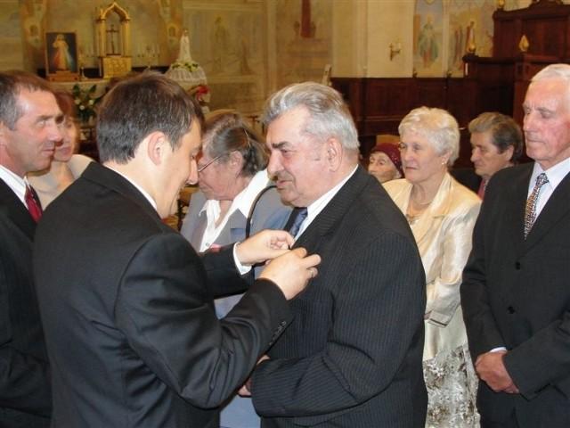 Złote pary odznaczył wój Rafał Kowalczyk