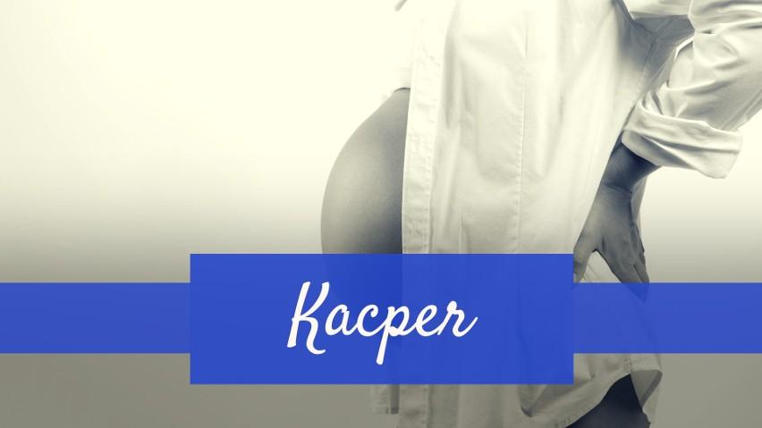 Imię Kacper zajęło 10. miejsce wśród imion dla chłopców. W...