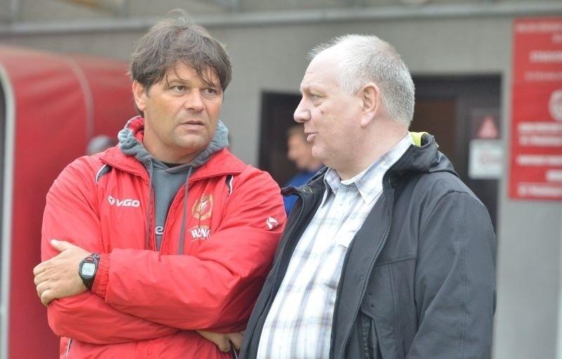 Radosław Mroczkowski i Sylwester cacek