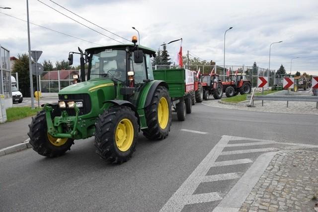 Protest rolników z Podkarpacia.