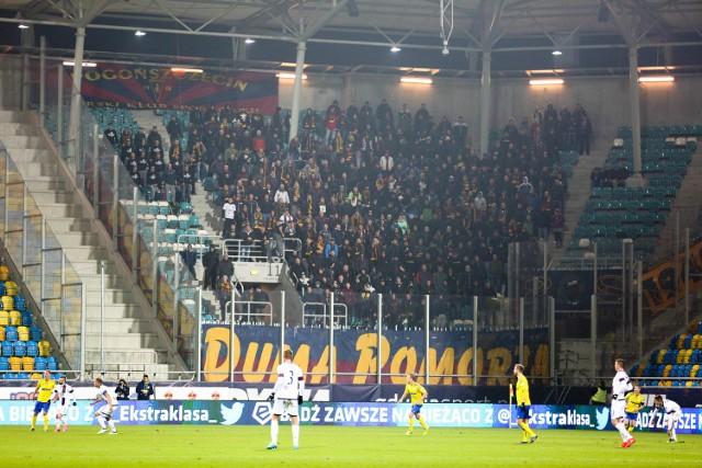 Arka Gdynia przegrała z Pogonią Szczecin 0:3