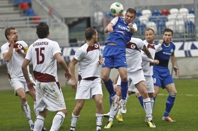 Paweł Alancewicz rozegrał w Stali niepełną rundę.