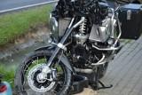 Tragiczny wypadek z udziałem motocyklisty. Ciężko ranny motocyklista w wypadku pod Skierniewicami
