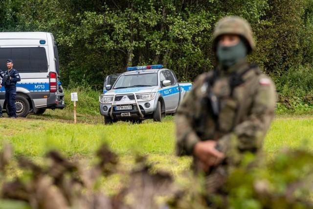 Kolejne zatrzymania na granicy polsko-białoruskiej. Zmarł obywatel Iraku