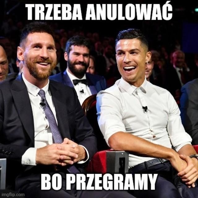 Złota Piłka nie dla Roberta Lewandowskiego. Memy komentują tę sytuację dosadnie