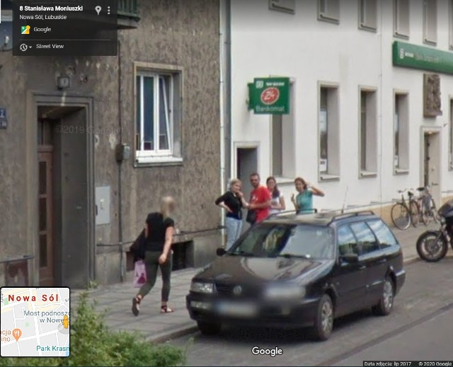 Zobacz kogo uchwyciły kamery Google Street View w Nowej Soli w latach 2012, 2014 i 2017 r.