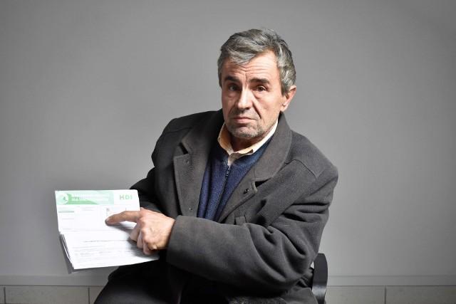 Mieszkaniec Świdnika, Józef Waśko, musi zapłacić ponad 1000 zł za naprawę auta. Twierdzi, że zostało uszkodzone w trakcie zatrzymywania go przez nieoznakowany patrol policyjny