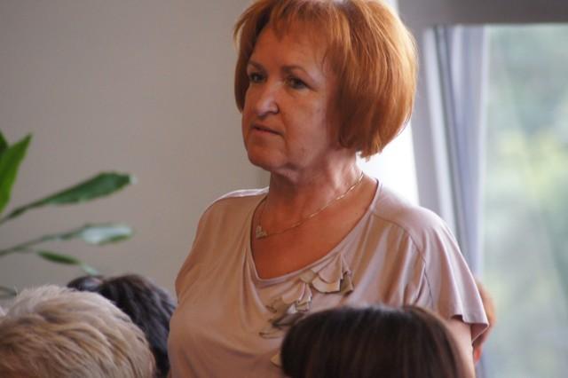 Halina Kępa, przewodnicząca zarządu radomszczańskiego oddziału Związku Zawodowego Pielęgniarek i Położnych