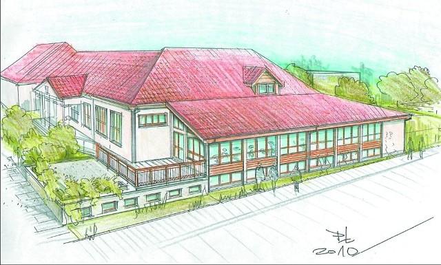 Tak ma wyglądać Powiatowy Ośrodek Sportu i Rekreacji Bukowisko w Supraślu po gruntownej modernizacji. Inwestycja zakończy się jesienią 2012 roku. Będzie realizowana dzięki unijnym funduszom.