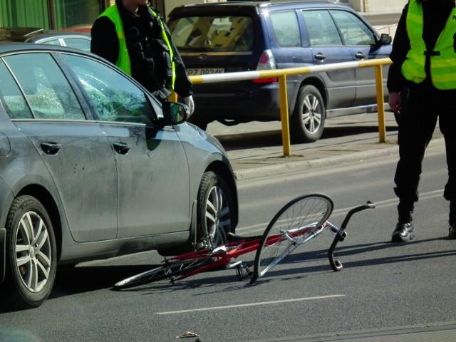 W ubiegłym roku w Poznaniu zanotowano 347 zdarzeń drogowych z udziałem rowerzystów