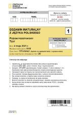 Matura 2021: język polski, poziom podstawowy. ARKUSZ CKE + ODPOWIEDZI