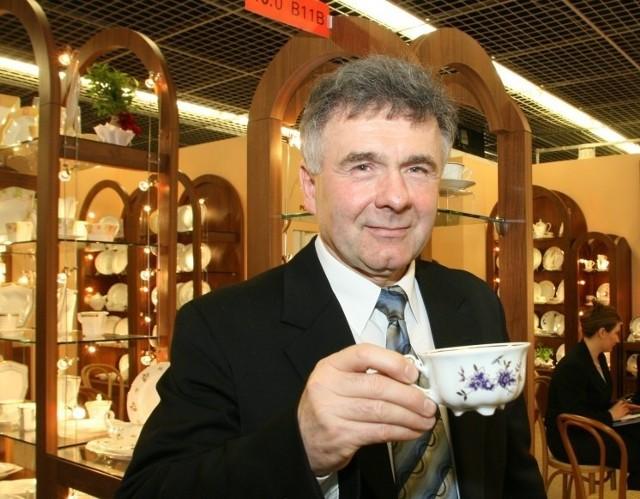 Marian Kwiecień ma nie tylko akcje Ireny. Kontroluje także niemal wszystkich największych polskich producentów porcelany oraz tkanin, nici i firan. fot. D.Łukasik