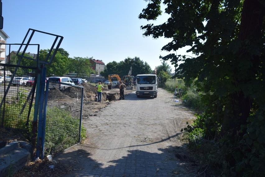 Nowy odcinek ul. Spichrzowej ma mieć 405 metrów.