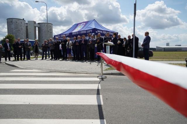 Uroczyste otwarcie drugiej części podstrefy ekonomicznej w Łapach