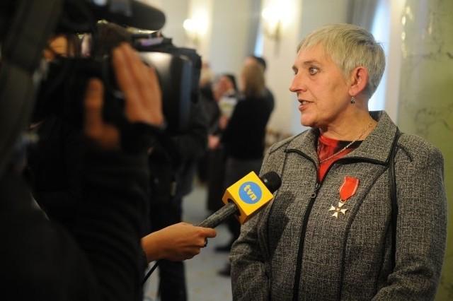 Janka Werpachowska dostała Krzyż Kawalerski Orderu Odrodzenia Polski.