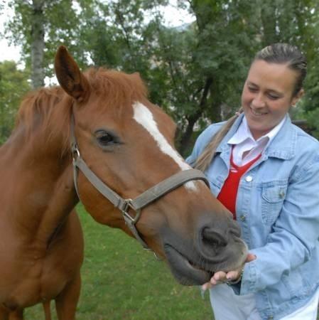 - Kupiłam konia, ale pozostawię go przy LORO, jeśli uda się utrzymać hipoterapię - deklaruje Magda Makowska-Hyżorek, instruktorka