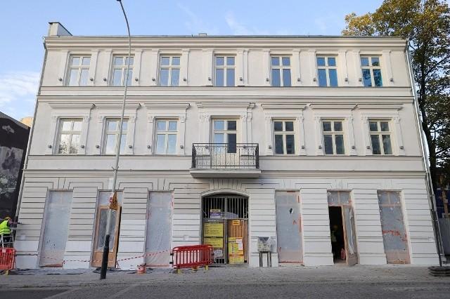 Przez podwórze nieruchomości przy u. Sienkiewicza 79 można będzie przejść do Off Piotrkowska Center.