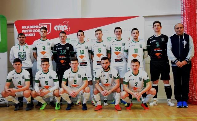 Futsaliści UMCS Lublin w świetnym stylu awansowali do turnieju finałowego akademickich mistrzostw Polski