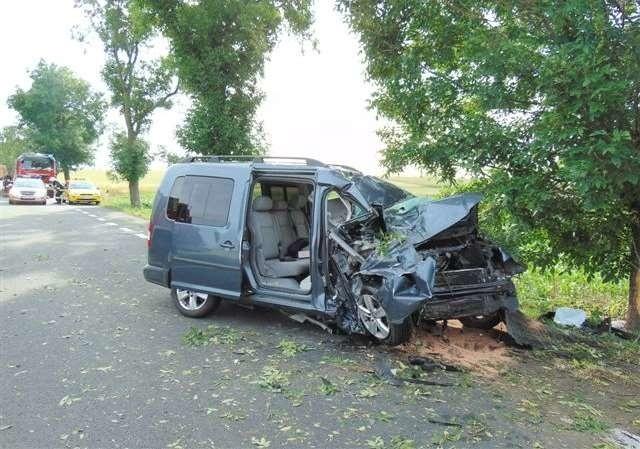 Do wypadku doszło na odcinku Sidzina - Pakosławice około godz.17.20.
