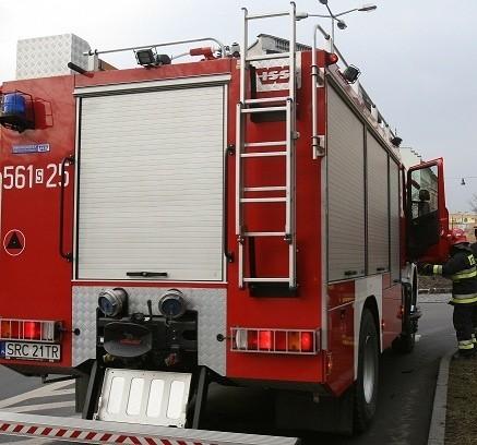 Pożar mieszkania w Raciborzu na Katowickiej
