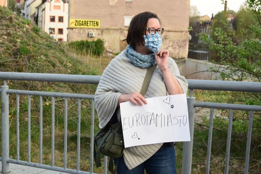 """Wpuśćcie nas do pracy"". Protest na granicy z Niemcami"