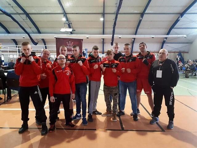 Bokserzy Włókiennika Łódź wygrali klasyfikację klubową gali w Koluszkach