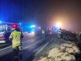 Wypadek na DW nr 114 w Trzeszczynie pod Policami. Pięć osób trafiło do szpitala - 2.03.2021