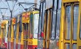Stoją tramwaje na Telefonicznej